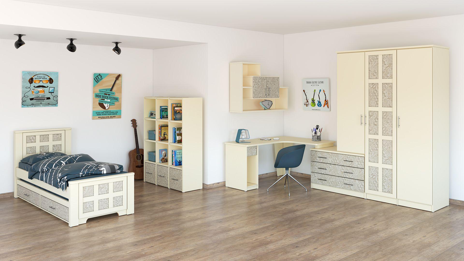 חדר מעוצב לילדים