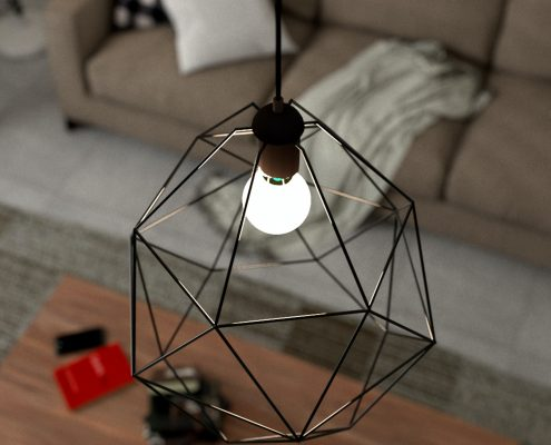 מנורת תקרה